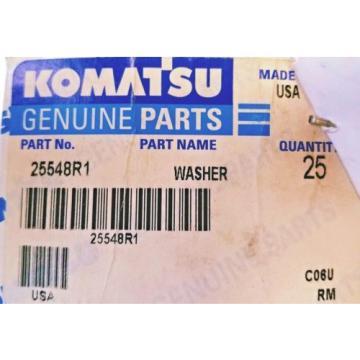 Komatsu, 3/4 WASHER, FLAT, 25548R1 (Box of 25) NEW! SAVE $31.75