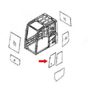 20Y-54-52850 Front Door Slide Glass for Komatsu Excavator PC240LC-7K PC240NLC-7K