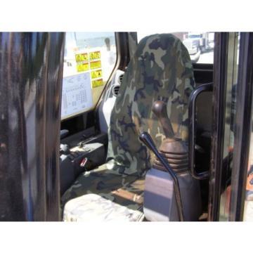 CAMO EXCAVATOR SEAT COVER HIGH BACK , CAT, JOHN DEERE, CASE, LINK BELT, KOMATSU