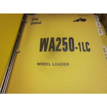Komatsu WA250-1LC Wheel Loader Repair Shop Manual