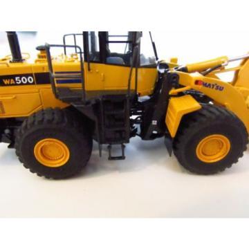 NIB CMC Komatsu WA 500-6 loader - Brass - 1/87 - ONLY 145 MADE - #14045