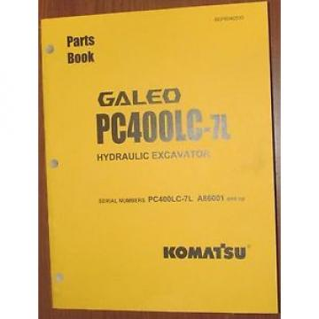 PARTS MANUAL FOR PC400LC-7L SERIAL A86000 AND UP KOMATSU CRAWLER EXCAVATOR