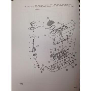 KOMATSU PC120-6 Hydraulic Excavator Parts Manual Book