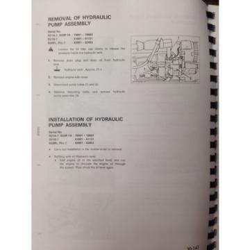 Komatsu D20P-7 D21A-7 D21PG-7A Dozer Shop Service Repair Manual SEBM001408