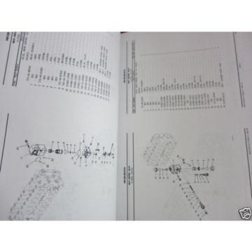 KOMATSU HYDRAULIC EXCAVATOR PC360LC-11 PARTS BOOK SER # A35001 AND UP