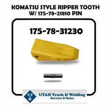 (1) 175-78-31230 KOMATSU STYLE RIPPER TOOTH W/ 175-78-21810 PIN
