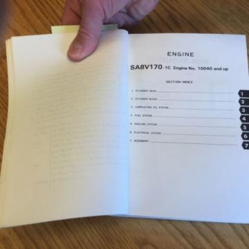 Komatsu WA800-1 PARTS MANUAL BOOK CATALOG WHEEL LOADER PEPB04280100 GUIDE LIST