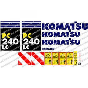 KOMATSU pc240lc Escavatore Adesivo Decalcomania Set