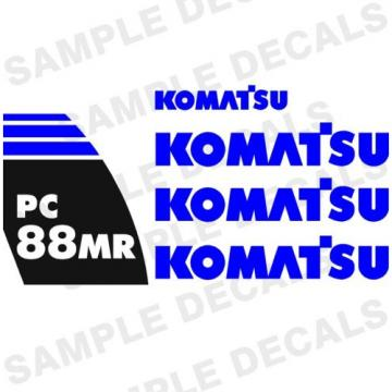 Komatsu Decals for Backhoes, Wheel Loaders, Dozers, Mini-excavators, and Dumps