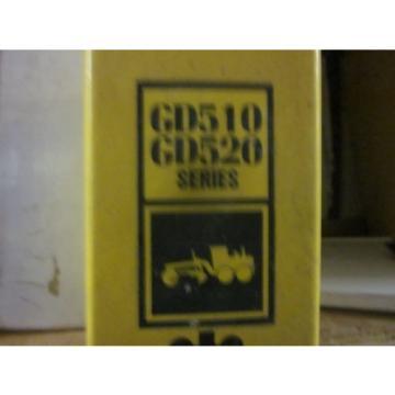 Komatsu GD510 GD520 Series Motor Grader Repair Shop Manual