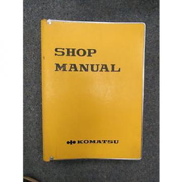 Komatsu D355A-3 Bulldozer Shop Service Manual SEBM0195B09 1986