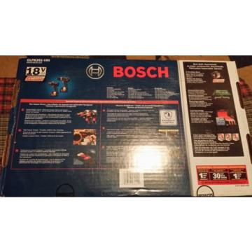 """Bosch 1/2"""" Hammer Drill / Driver And 1/4"""" Impact Driver Combo Kit"""