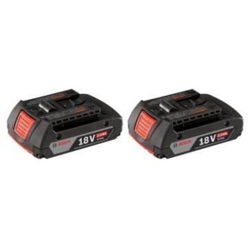 BOSCH CRS180B-RT 18V Li-Ion Cordless Reciprocating Saw & 2 BAT612-RT Batteries