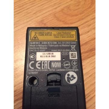 Bosch GLM50C Bluetooth Laser Range Distance Measurer Finder 3 0601072C00
