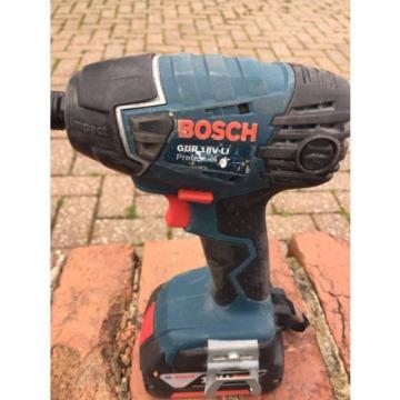 Bosch GDR 18 V-LI Cordless Impact Driver Li-on