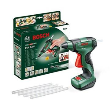 Bosch PKP 3.6 LI Cordless Lithium-Ion Glue Gun with 3.6 V Battery 1.5 Ah