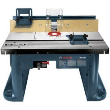 Bosch ( RA1181) Benchtop Router Table Includes 2 adjustable featherboards Tools