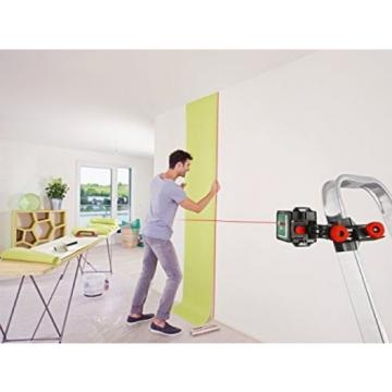 Bosch Quigo Cross Line Laser With MM02 Mount FREE POST UK