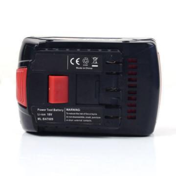 18V 4.0AH Li-ion Battery For Bosch BAT609 BAT618 17618 25618-01 2 607 336 091