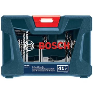 Bosch MS4041 41-Piece Screwdriver Bit Set for Drill and Drive Set, Free Priority