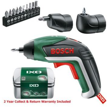 FULL SET Bosch IXO 5 Lithium ION Cordless Screwdriver 06039A8072 3165140800051