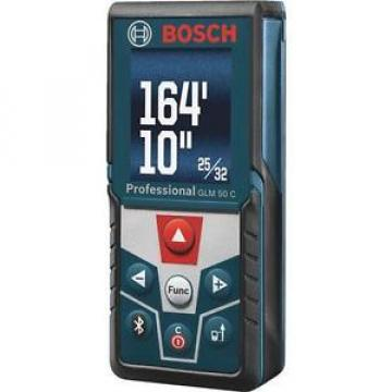 Bosch 165 Foot Laser Distance Measurer with Bluetooth