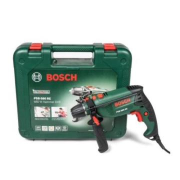 Bosch PSB680 Hammer Drill + Bosch Xline 34 Piece Drill Bit BUNDLE BNIBs Sealed