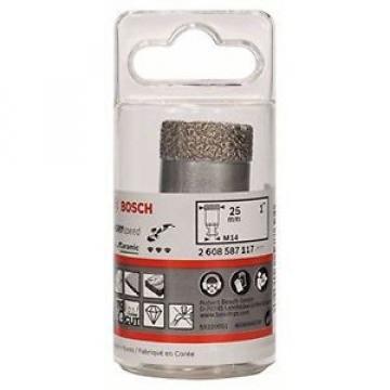 Bosch 5290525 Dry Speed Fresa Diamantata, Diametro 25 mm
