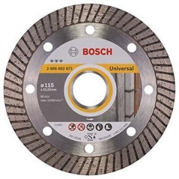 BOSCH, 2608602671, Diamante disco di taglio migliore per Universal Turbo, 115 x