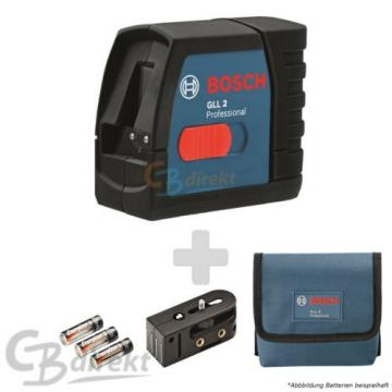 BOSCH LASER CROSS LINE LASER GLL 2 + HOLDER + BAG LINE LASER