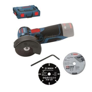 BOSCH BATTERIA SMERIGLIATRICE ANGOLARE GWS 10,8-76 V-EC/12V-76 INCL. L-BOXX