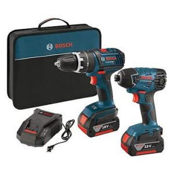 Bosch CLPK237-181 18-volt Lithium-Ion 2-Tool Combo Kit with 1/2-Inch Hammer D...