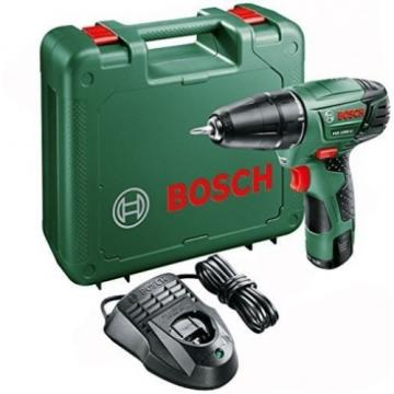 Bosch PSR 1080 LI Cordless Lithium-Ion Drill Driver With 1 X 10.8 V Battery, Ah