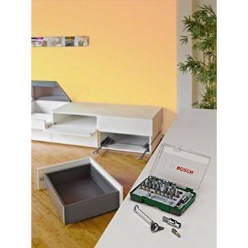 Bosch 2607017160 Screwdriving Set with Mini Ratchet (27 Pieces)