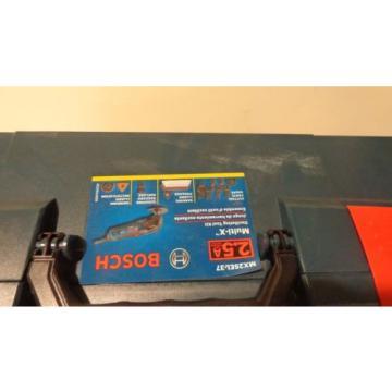 Bosch MX25EL-37 2.5-Amp Oscillating Tool, LBoxx and Accessories