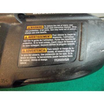 BOSCH BULLDOG EXTREME 11255VSR CORDED ROTARY HAMMER DRILL w/CASE - SDS PLUS