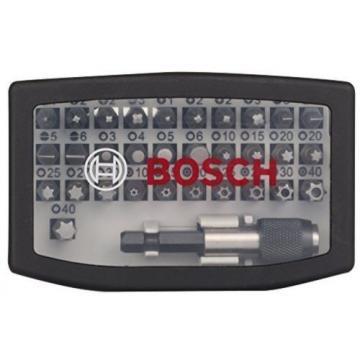 Bosch Screwdriver Bit Power Tool Set Of 32 with Quick Change Universal Holder