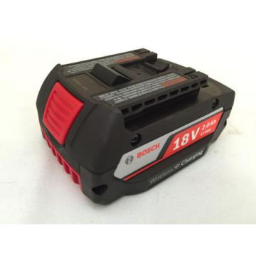 NEW Bosch Cordless Wireless Charging Battery Pack WCBAT612 2.0 18v Volt Lithium