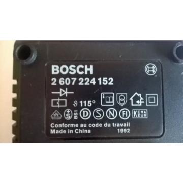 BOSCH AL 60 (ACCU) Carica batterie utensili / BOSCH AL 60 (ACCU) Battery Charger