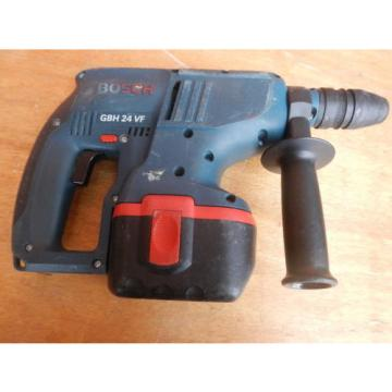 Bosch-GBH-24VF-24V-cordless-rotary-hammer-drill-2-batteries-charger-user manual
