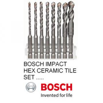 NEW Bosch Hex-9 Ceramic IMPACT CONTROL SET 8 PIECE SET