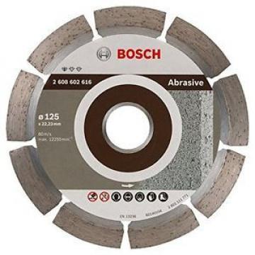 Bosch 2608602616 - Lama abrasiva per sega con anello di riduzione, 125 mm