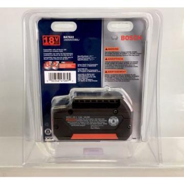 Bosch BAT622 (18V/ 6.0Ah) Lithium-Ion FatPack Battery Power Tools High Capacity