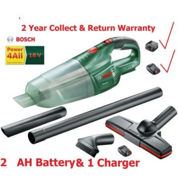 Bosch PAS 18 Li 2.0ah 18V Cordless Vacuum Cleaner 06033B9001 3165140761802 .''