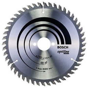 Bosch 2608640617 Optiline Lama Circolare, 190 x 30, 48D