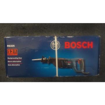 Bosch RS325 12-Amp Reciprocating Saw- 120V 60Hz