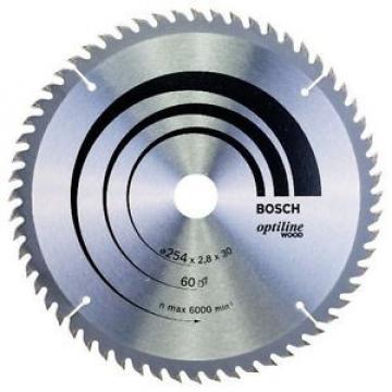 Bosch 2608640444 Lama Troncatrice Optiline, 254X30, 60 D