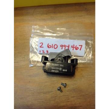 NEW BOSCH Switch PN: 2610994467