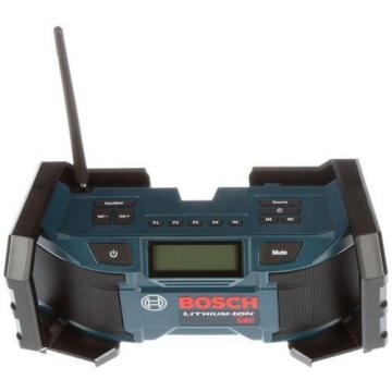 Cordless 18 Volt Lithium-Ion Compact Radio Work Jobsite Power Tool AM/FM Music