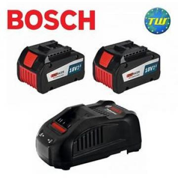 Bosch 18V Cordless Charging Kit with 2x 6.3Ah EneRacer Battery Packs & Charger
